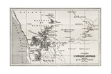 South Western Africa Old Map