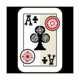 Hand Drawn Deck Of Cards  Doodle Ace Of Clubs