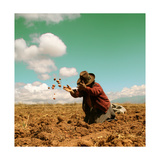Potato Harvest In The Andes Of Peru