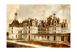 Chambord Castle - Artwork In Painting Style
