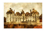 Cheverny Castle - Artwork In Painting Style