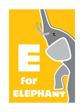 E For The Elephant  An Animal Alphabet For The Children