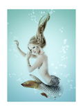 Mermaid Beautiful Magic Underwater Mythology Being Original Photo Compilation
