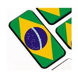 Keyboard Keys With The Brazilian Flag