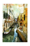 Pictorial Venetian Streets - Artwork In Painting Style