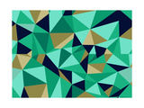 Trendy Abstract Geometric Seamless Pattern