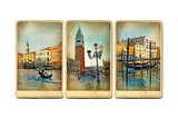 Beautiful Romantic Venice- Retro Cards