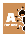 A For The Ant  An Animal Alphabet For The Children