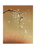 Oriental Style Painting  Plum Blossom