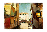 Streets Of Venice - Artwork In Painting Style