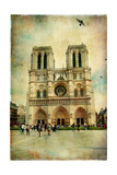Notre Dame - Artwork In Painting Style