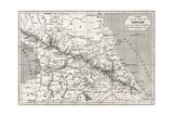 Old Caucasus Map