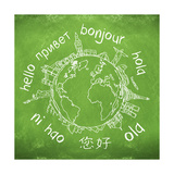 Say Hello Around The World Hello Translated In A Few International Languages