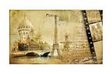 Memories About Paris Vintage Photoalbum Series