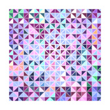 Colorful Mosaic Abstract Background