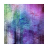 Art Abstract Watercolor Background On Paper Texture In Light Violet And Pink Colors