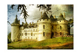 Medieval Castle - Picture In Painting Style
