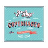 Vintage Greeting Card From Copenhagen - Denmark
