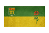 Illustration Of Saskatchewan State Flag  Canada