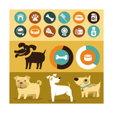 Infographics Elements - Dogs