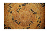 A Native American Woven Basket Pattern