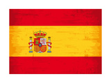 Spanish Grunge Flag A Flag Of Spain With A Texture