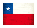 Chilean Grunge Flag A Grunge Flag Of Chile With A Texture