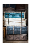 Vintage Luggage Crates  Boxes  Suitcases