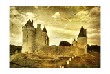 Medieval French Castle - Artistic Toned Picture