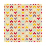 Aztec Chevron Colorful Pattern