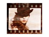 Grunge Film Frame Retro Shot Fashion Art Photo