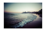View Of Ipanema Beach In The Evening  Brazil