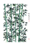 Bamboo Ink Painting Translation: Wellbeing