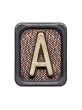 Metal Button Alphabet Letter A