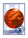 Postage Stamp Basketball