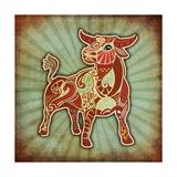 Grunge Zodiac - Taurus