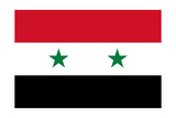 Syrian Arab Republic National Flag