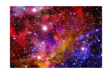 Stellar Field With Nebulae