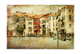 Venice  Artwork In Painting Style