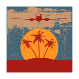 Tropical Travel Background