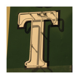 Painting Of The Letters T