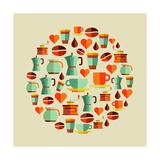 Coffee Elements Illustration