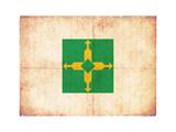 Grunge Flag Of Brasilia (Brazil)