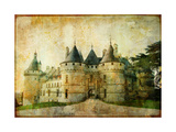 Chaumont Castle - Vintage Picture