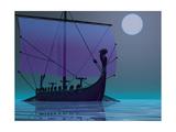 Viking Journey Reproduction d'art par Corey Ford