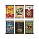 Retro Food Cans Collection