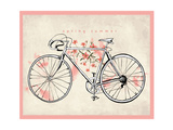 Flower Vintage Bicycle