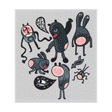 Crazy Cartoon Monsters