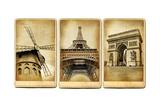 Paris - Vintage Cards Series