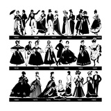 1800-1900 Fashion Silhouettes